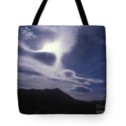 Death Valley Clouds Tote Bag