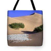 Death Valley Salt Flat Tote Bag