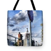 Decatur Alabama Industrial District Tote Bag