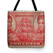 Decatur And Macdonagh Postage Stamp Tote Bag