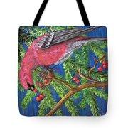 December Berries Tote Bag