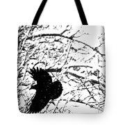 December Raven Tote Bag