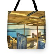 Deck View Of The Med Tote Bag