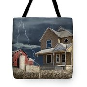Decline Of The Small Farm Number 6 Version 2 Tote Bag