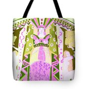 Deco Ladies Frostwork And Iris Tote Bag