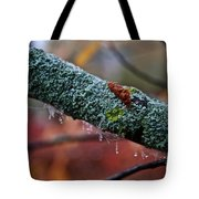 Decorated Branch Tote Bag