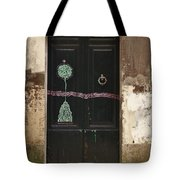 Decorated Door Tote Bag