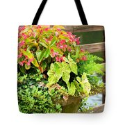 Decorated With Pink Tote Bag