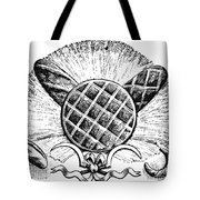 Decorative Cut: Bread Tote Bag