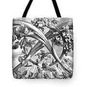 Decorative Engraving Tote Bag