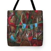 Deep City Three Tote Bag