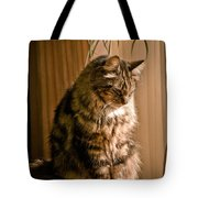 Deep In Kitty Thought Tote Bag