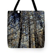 Deep In The Moonlit Forest Tote Bag