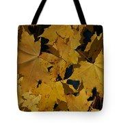 Deep Leaves Tote Bag
