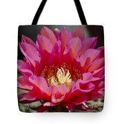 Deep Pink Cactus Flower Tote Bag