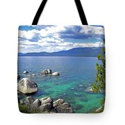 Deep Waters Lake Tahoe Tote Bag