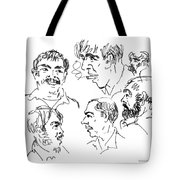 Deepfreeze-s.pole-art6 Tote Bag