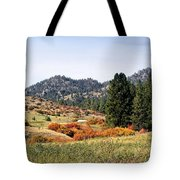 Deerborn Fall Tote Bag