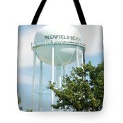 Deerfield Beach Tower Tote Bag