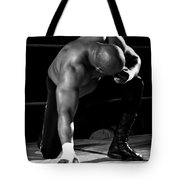 Defeated No. 4 Tote Bag