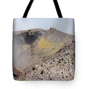 Degassing North Crater With Fumarolic Tote Bag