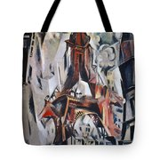 Delaunay: Eiffel Tower, 1910 Tote Bag