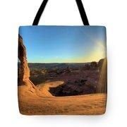 Delicate Arch Bowl Tote Bag