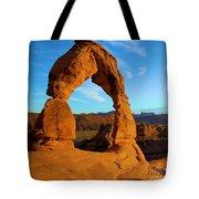 Delicate Arch Portrait Tote Bag