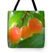 Delicious Plums On The Branch Tote Bag