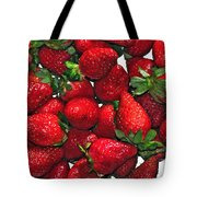 Deliciously Sweet Strawberries Tote Bag