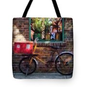 Delivery Bicycle Greenwich Village Tote Bag