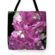 Delphinium Named Magic Fountains Lilac Pink Tote Bag