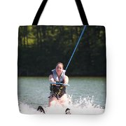 Demi Skiing Tote Bag