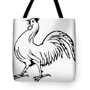 Democratic Rooster, 1840 Tote Bag