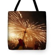 Demon Sparking Tote Bag