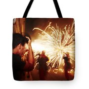Demons Fire Tote Bag