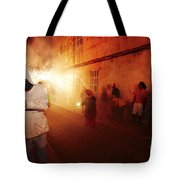 Demons In The Street Tote Bag