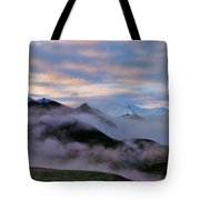 Denali Dawn Tote Bag