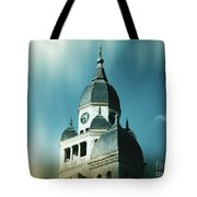 Denton County Courthouse Tote Bag by Angela Wright