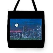 Denver Moon Tote Bag
