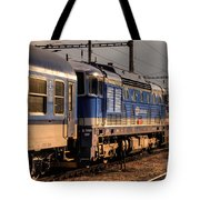 Departing Into The Sunset  Tote Bag