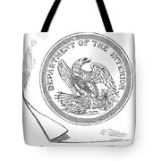 Department Of The Interior Tote Bag