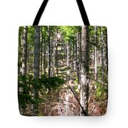 Depth Of Trees Tote Bag