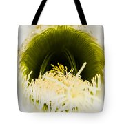 Depths Of The Cactus Flower Tote Bag