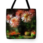 Depths Of Tranquility Tote Bag