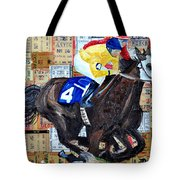 Derby Tickets 4 Tote Bag