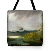 Derwent Water With Skiddaw In The Distance Tote Bag