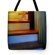 Descending The Stairs Tote Bag