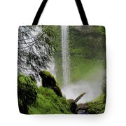Descent To The Falls Tote Bag