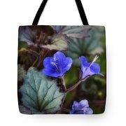 Desert Bluebells  Tote Bag
